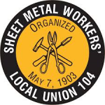Sheet Metal Workers Local 104 Rebate Izmirian Roofing